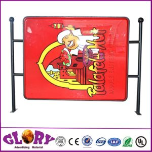 Acrylic Mould Sucking Signage LED Outdoor Light Box pictures & photos