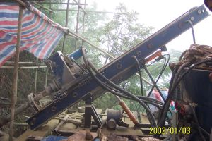 Xitan MD60 Slop Anchor Drilling Rig Foundation Pile DTH Hammer pictures & photos