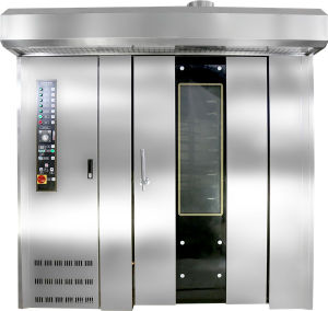 16 Trays Hot Air Diesel Rotary Oven Used for Baking Bread, Biscuit, Cake, Cookie pictures & photos