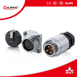 Adapter Type Cable Connector/F Type Waterproof Connector/Cable Connector EV Charger pictures & photos