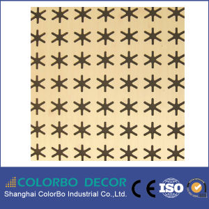 Sound Absorption Materials Wood Grooved Acoustical Panel for Studios pictures & photos