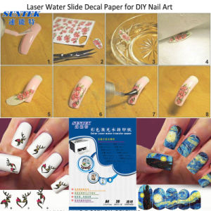 Transparent Laser Water Decal Paper A4 A3 Size Available pictures & photos