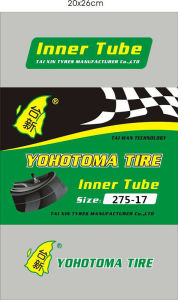 Inner Tube Motorcycle Butyl (300-10 350-10 90/90-12 90/90-10 275-14) pictures & photos