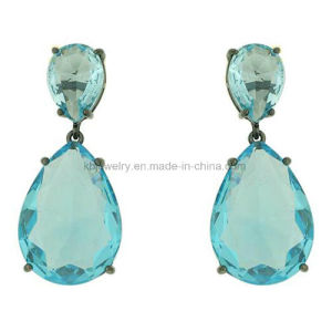 Latest Style Jewellery Gemstone Hanging Earrings for Party (KE3192) pictures & photos