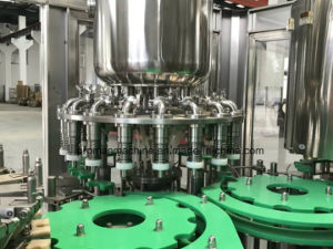 Automatic Milk/Juice Aluminum Foil Washing Filling Sealing Machine pictures & photos