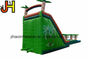 Forest Theme Inflatable Water Slip Slide with Pool for Water Game pictures & photos
