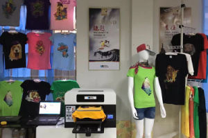 A3 DTG Direct to Garment Printer Sinocolor Tp420 for Light and Dark T Shirt pictures & photos