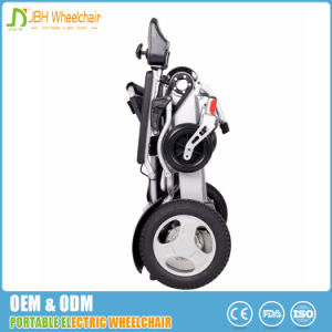 Lightweight Portable Folding Electric Wheelchair for Disabled pictures & photos