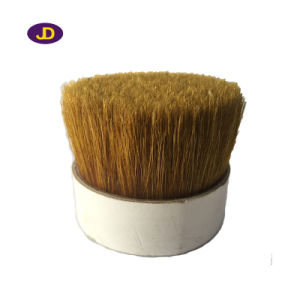 Bleach White Bristle Mix with Plastic Filament for Paint Brush pictures & photos
