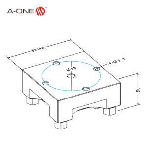 Square Holder System - Workholding Systems-Aluminum Clamping Holder (3A-500132) pictures & photos