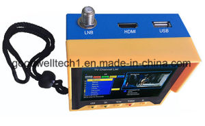 "3.5"" Handheld Digital Satellite Finder Meter with HDMI Output pictures & photos"