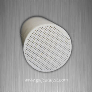 Catalyst Coated Ceramic Honeycomb Used in Vehicle Filter pictures & photos