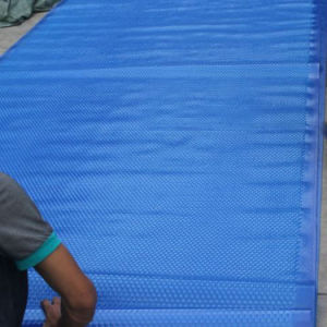 Fenlin Swimming Pool Bubble PVC Pool Cover pictures & photos
