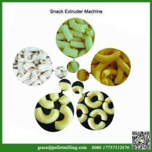 China Grain Snack Puffed Inflating Food Extruder Processing Machine pictures & photos