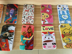 Phone Case Printing Machine with Colorful Effect pictures & photos