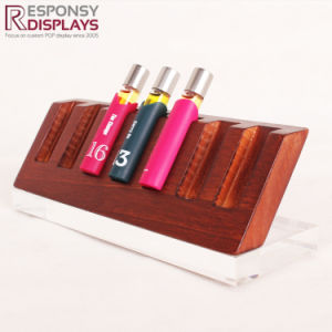 Counter-Top Multilayers Wooden Essential Oil Display Stand pictures & photos