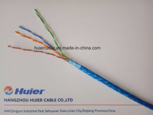China Factory Cat5e LAN Cable, UTP, FTP, ETL, with Shield pictures & photos