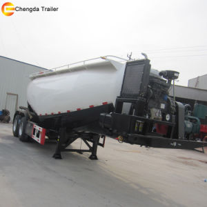 30-65cbm Chengda Trailer Power Cement Tank Semi Trailer pictures & photos