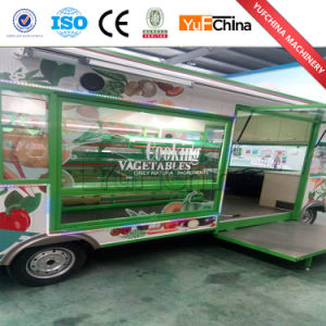 Hot Sale 4 Wheel Electric Mobile Vegetables Cart with Pedals pictures & photos