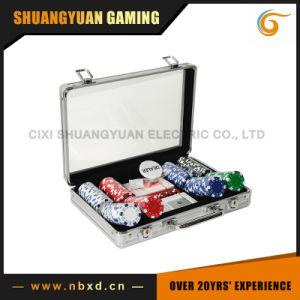 200PCS Poker Chip Set in Transparent Cover Aluminum Case (SY-S14) pictures & photos
