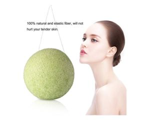 All Natural Fiber Bamboo Charcoal Konjac Facial Cleaning Sponge and Pad pictures & photos