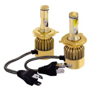 White and Yellow 4800lm LED Headlight Bulb pictures & photos