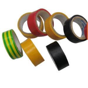 PVC Electrical Tape Jumbo Roll PVC Insulation Tape Log Roll pictures & photos