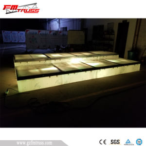 Aluminum Portable Stage with Adjustable Mobile Folding Platform pictures & photos