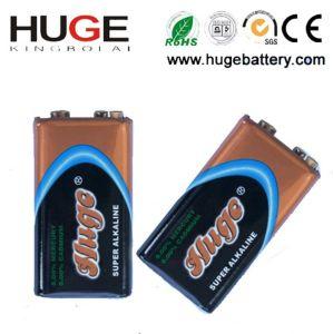 9V 1PCS Blsiter Pack Super Alkaline Battery 6lr61 pictures & photos
