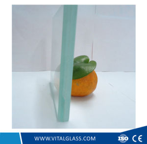 Green/Clear/Blue Laminated Glass for Window Glass (L-M) pictures & photos