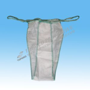 Disposable Thong Panties, String Tanga, Disposable Tangas for Men and Women pictures & photos
