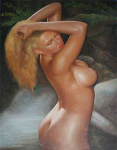 Oil Painting (Nud-006)