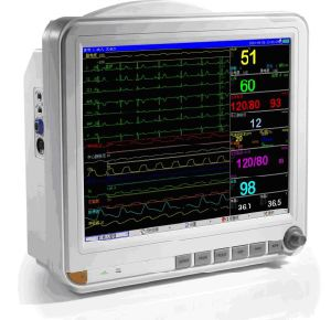 15 Inch Patient Monitor ECG Monitor Cardiac Monitor (OW-8000D) pictures & photos