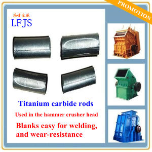 Titanium Carbide Rod Used for Impact Resistant Steel pictures & photos