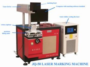 Metal Laser Marking Machine (JQ-50) pictures & photos