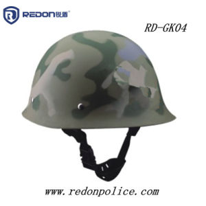 Camouflage Steel Police Law Enforcement Duty Helmet pictures & photos