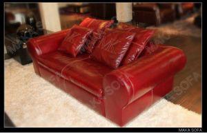 2011 Genuine Leather Sofa (HD-232)