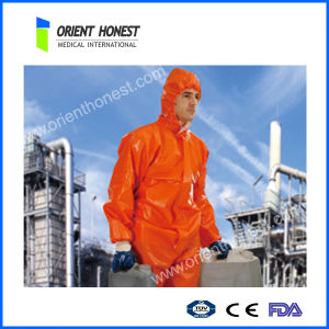 Disposable Functional Fire Retardant Coverall with Reflective Tape
