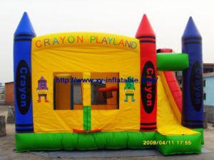 Inflatable Slide Castle (COM-09)