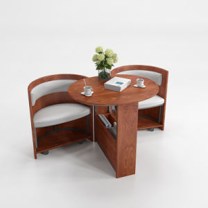 Office Furniture Guest Chair with Wooden pictures & photos