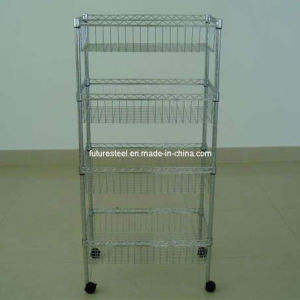 Light Duty Wire Rack with or Without Castors pictures & photos