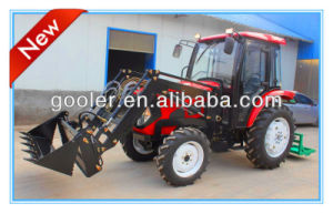 LZ404, 40HP, 4WD Garden Tractor Fit with 4in1 Front End Loader, Backhoe pictures & photos