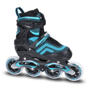 Big Wheel Semi Soft Adjustable Inline Skate (SS-84A-3 BW) pictures & photos