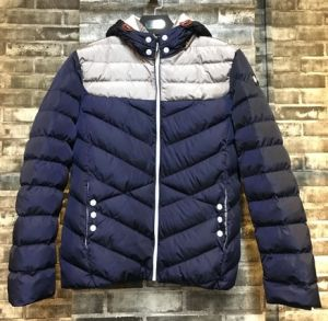 Constrast Fashion Man Hoody Padded Jacket (I2J005) pictures & photos