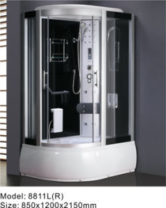 2014 Hot Luxury Computerized Steam Shower Room/Shower Cabin (8811L(R))