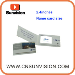 2.4inch Video Card with Customized Design for Business Gift pictures & photos