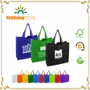 Favorable Price New Design Fashion Style Colorful Handled PP Non Woven Bag, Non Woven Bag pictures & photos