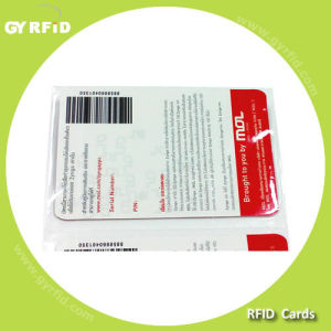 Ean39, Ean128 Barcode Card With Preprinted Logo and Number pictures & photos