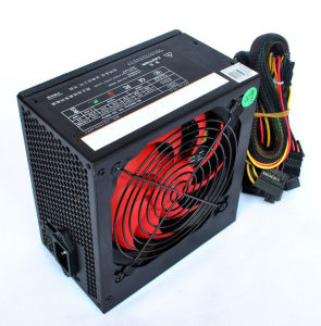 400W Axt PC Power Game 20+4pin 4+4pin 1p6 3SATA 3IDE Computer Power Supply with I/O pictures & photos