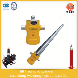 Side-Dumping Telescopic Hydraulic Cylinder for Truck pictures & photos